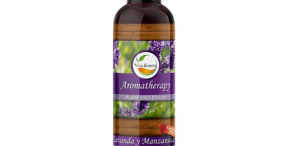 Aceite para masaje Lavanda & Manzanilla 125 ml.