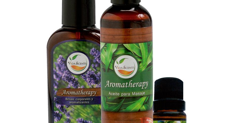 Kit Aromatherapy 3 piezas