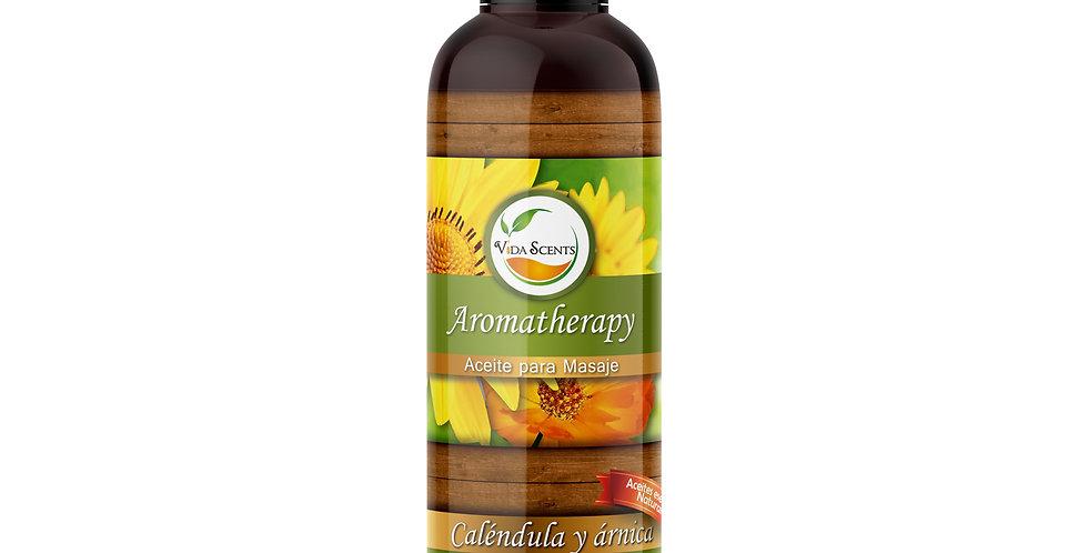 Aceite para masaje Caléndula y Árnica 125 ml.