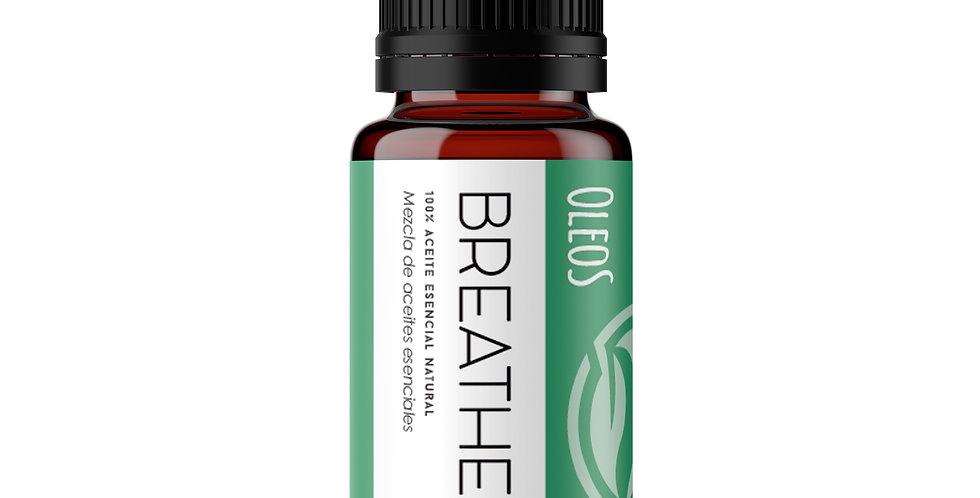 Aceites Esenciales Breathe (Romero, Eucalipto y Poleo)  10 ml.