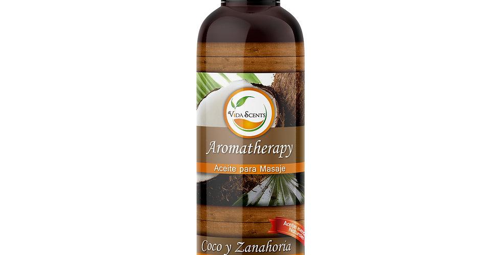 Aceite para masaje Coco & Zanahoria 125 ml.