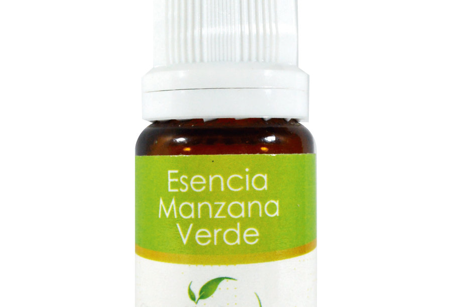 Esencia aromática basics Manzana verde 10 ml.