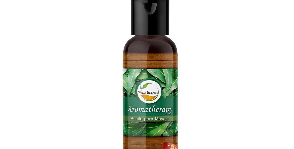 Aceite para masaje Aromatherapy Romero & Eucalipto 60 ml.