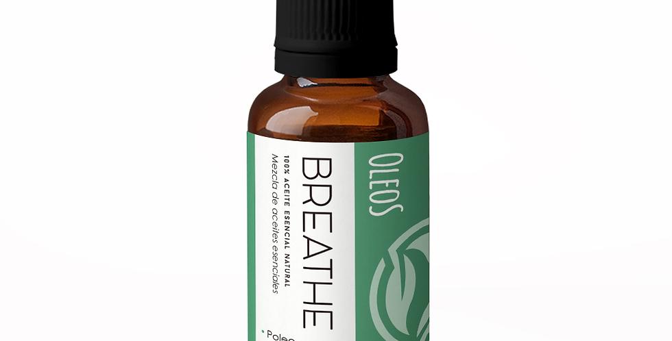 Aceites Esenciales Breathe (Romero, Eucalipto y Poleo)  30 ml.
