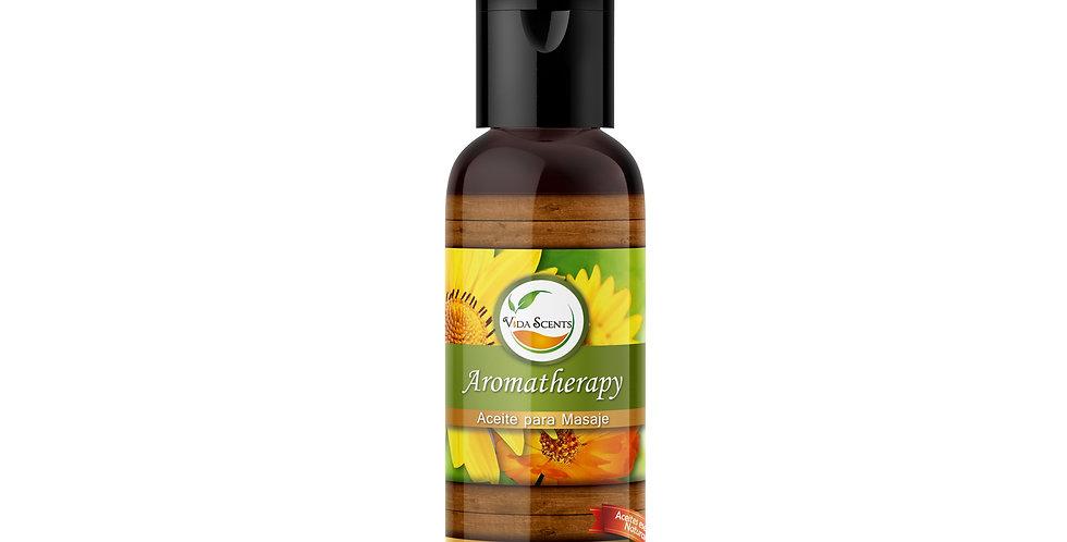 Aceite para masaje Caléndula y Árnica 60 ml.