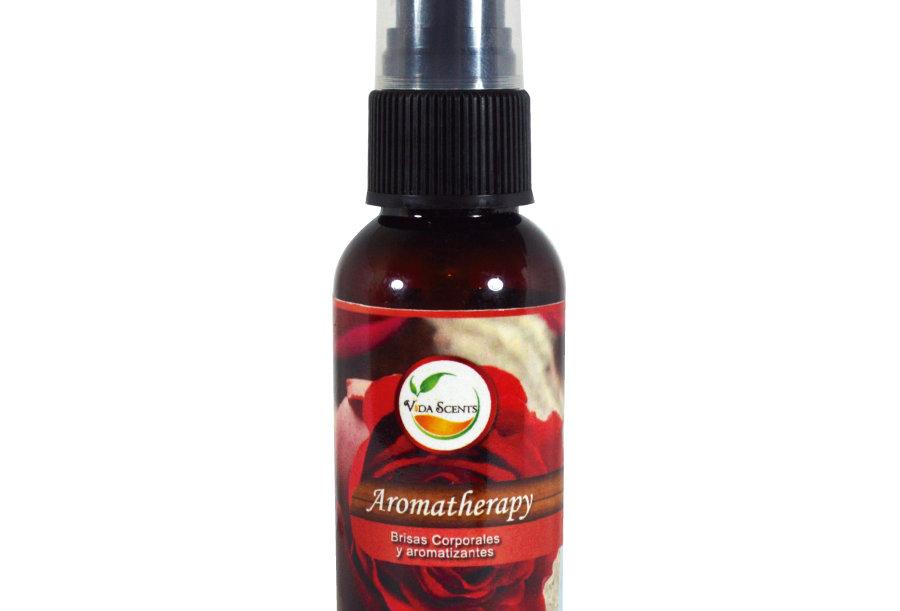 Loción Aromatherapy de Rosas & Semilla de uva 60 ml.