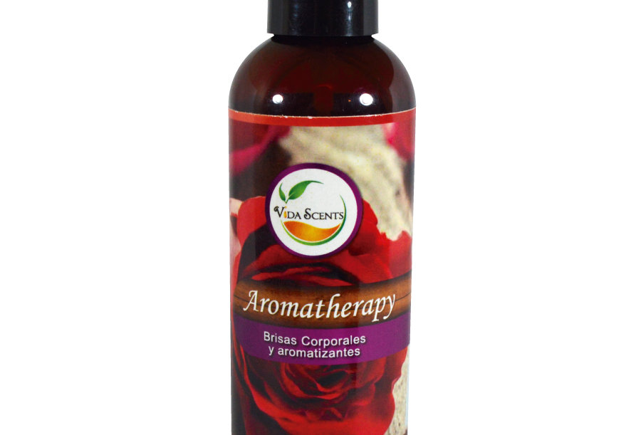 Loción Aromatherapy de Rosas & Semilla de uva 125 ml.