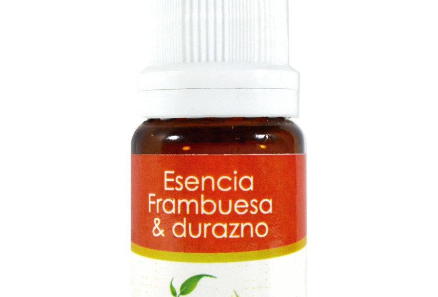 Esencia aromática basics Frambuesa & Durazno 10 ml.