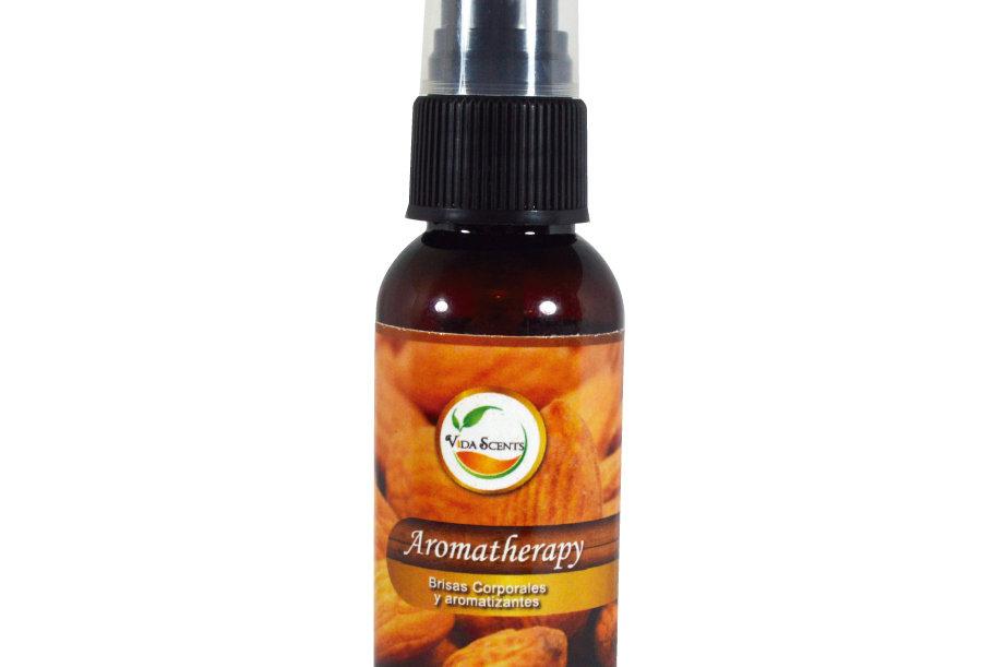 Loción Aromatherapy de Almendras & Linaza 60 ml.
