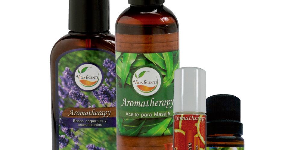 Kit Aromatherapy 4 piezas surtido