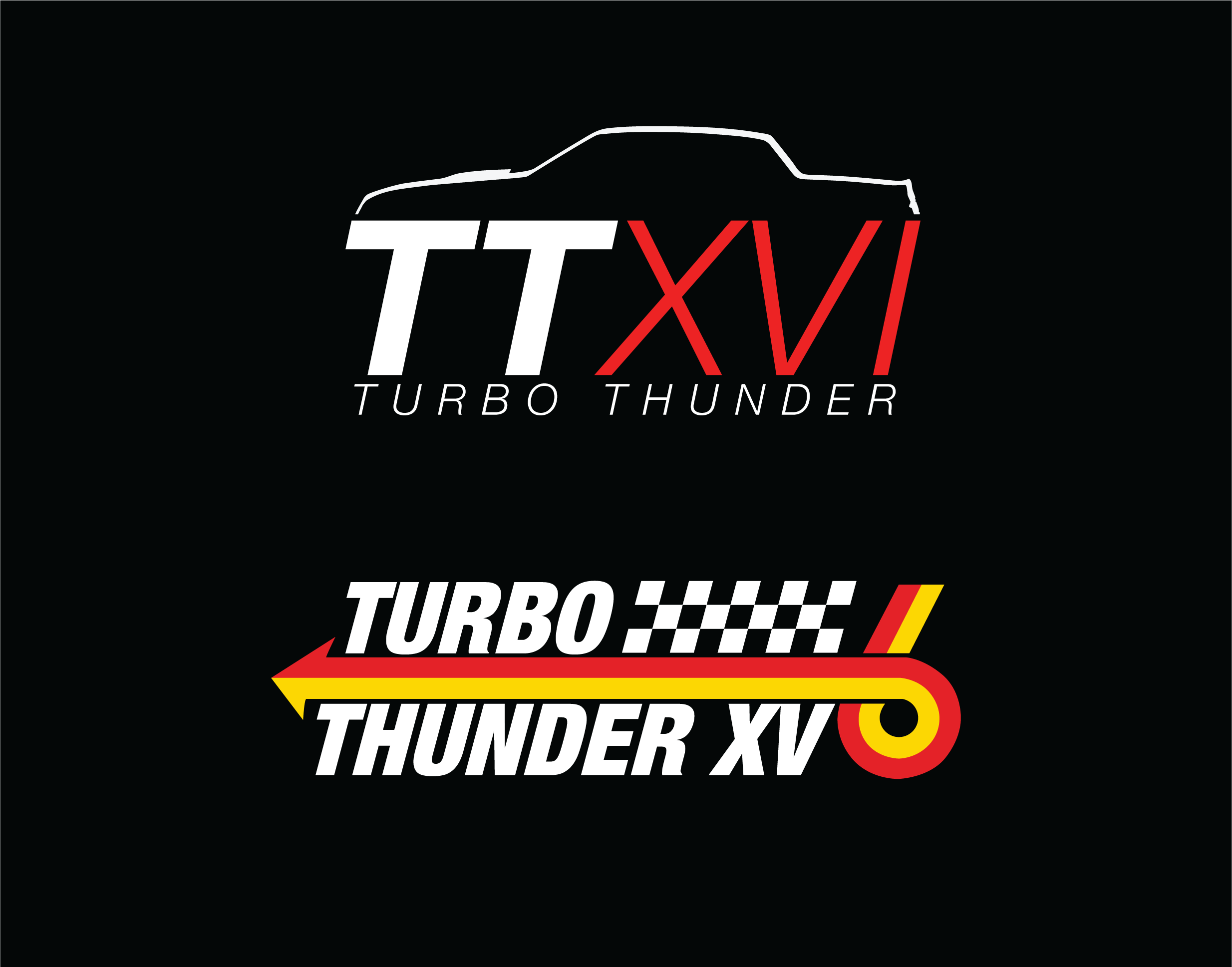 Turbo Thunder Logos