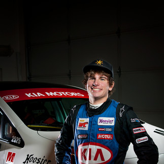 Racecar Driver Headshot