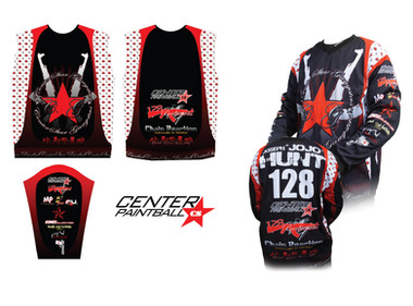 Paintball Team Jersey Design