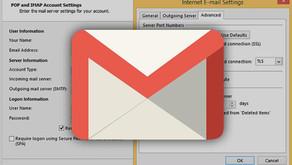 Jak přidat další účet do Gmailu (IMAP/POP)
