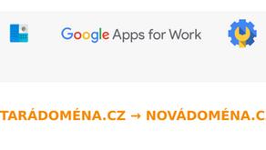 Snadná změna hlavní (primární) domény v G Suite (Google Apps)