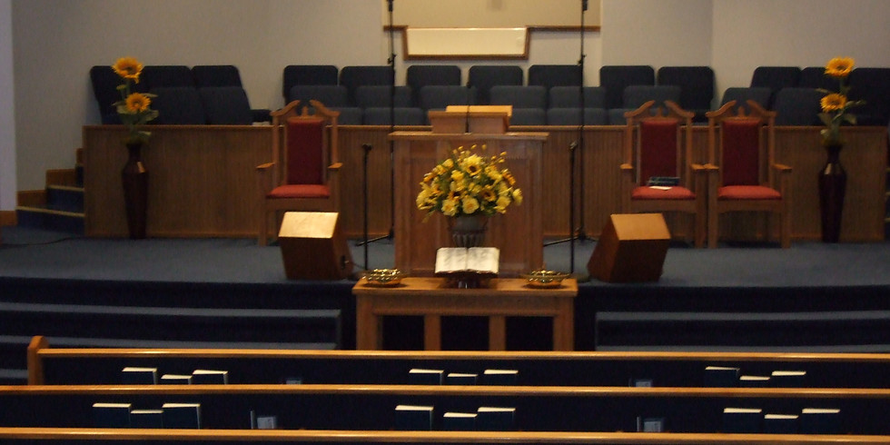 In-House Gathering for Worship is currently scheduled for this Sunday!