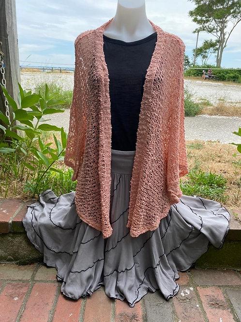 Crochet Long Bolero