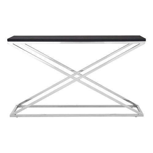 LUXE Tribute Console Table Black
