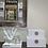 Thumbnail: SET OF 2 WHITE LEATHER BOXES