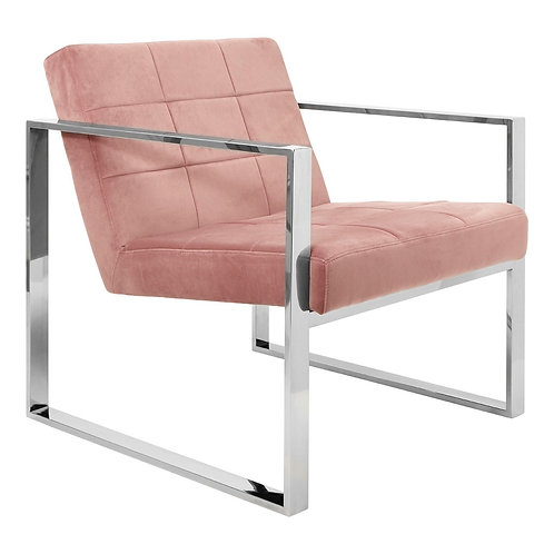 LUXE VOGUE COCKTAIL CHAIR BLUSH