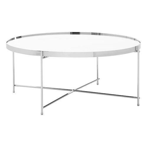 LUXE Allure Silver Mirror Coffee Table