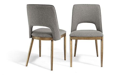 ATWOOD BEIGE LINEN DINING CHAIR (SET OF 2)