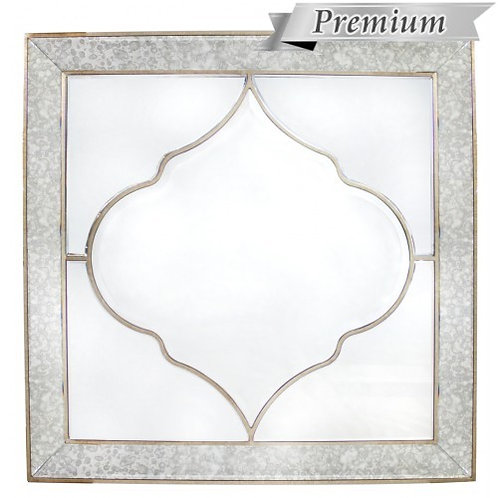 MIRRORED MOROCCAN WALL MIRROR