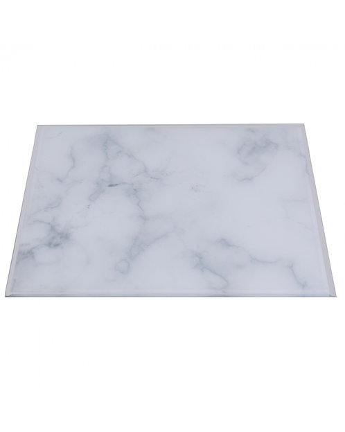 GREY MARBLE PLACEMAT 30 X 30