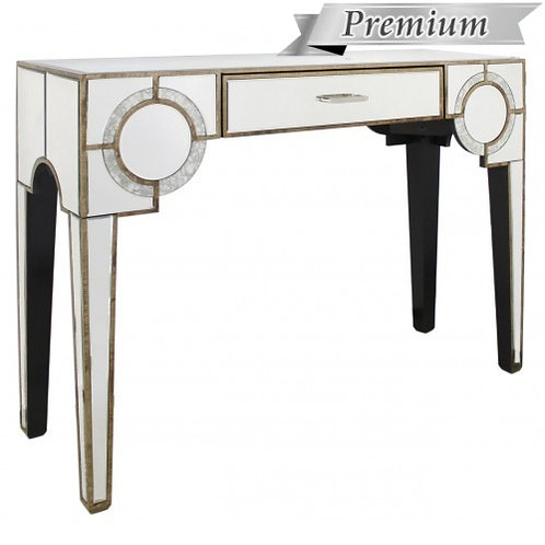 MIRRORED ART DECO CONSOLE TABLE