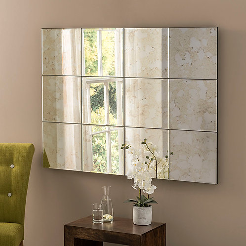 MANHATTAN 12 PIECE ANTIQUE MIRROR