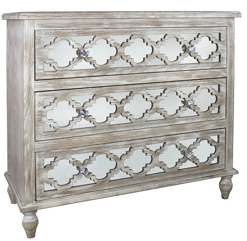 MODERN COUNTRY 3 DRAWER CHEST