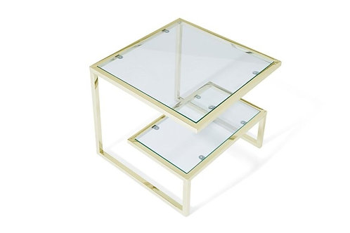 Mera Side Table Gold