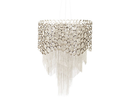 EXCLUSIVE COLLECTION VENUS NICKEL CHANDELIER