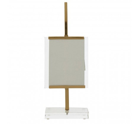 GOLD STAND PHOTO FRAME