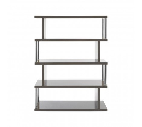 4 TIER GREY GLOSS DISPLAY UNIT
