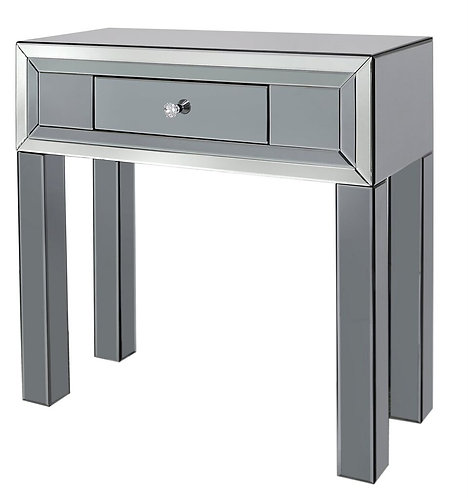 APOLLO SMOKED 1 DRAWER CONSOLE TABLE