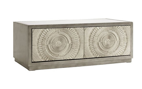 LUSSO SILVER COFFEE TABLE