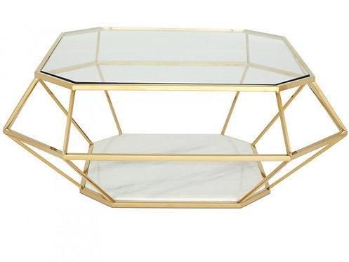 Iris Coffee Table Gold