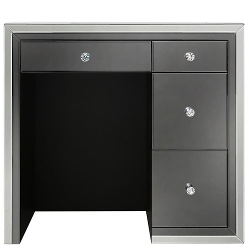APOLLO SMOKED 4 DRAWER DRESSING TABLE