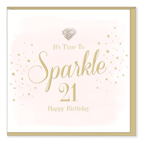 21 BIRTHDAY CARD