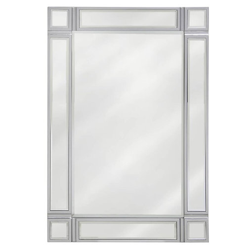 LAUREL MIRROR SILVER