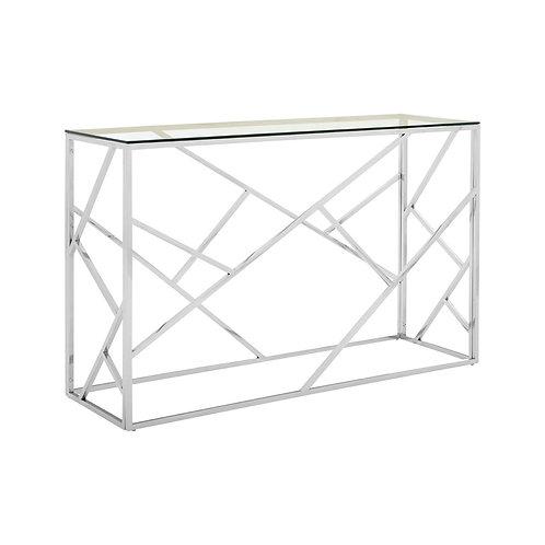 LUXE Allure Geometric Console Table
