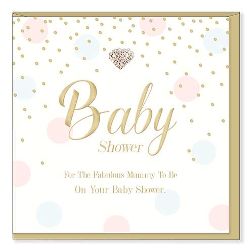 UNISEX BABY SHOWER CARD