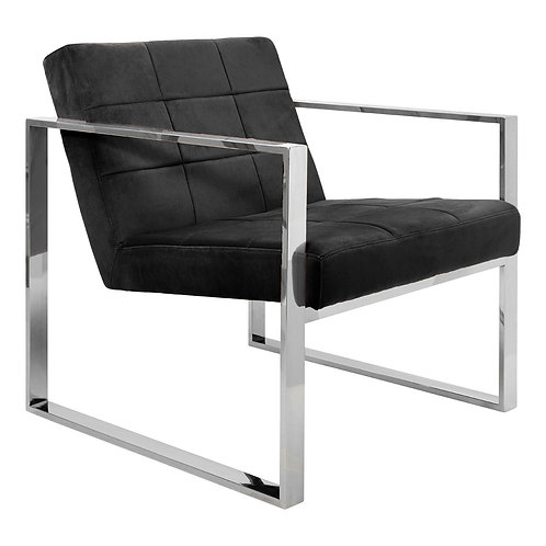 LUXE VOGUE COCKTAIL CHAIR BLACK