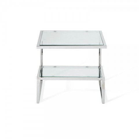 Mera Side Table Silver