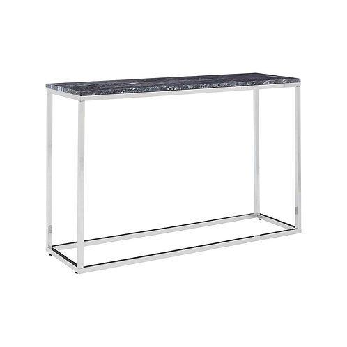 LUXE Allure Black Marble Console Table