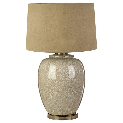 LUXE ANORA TABLE LAMP TAUPE