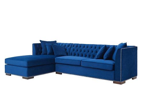 ROYAL CHESTERFIELD SOFA BLUE