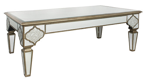 MIRRORED MOROCCAN COFFEE TABLE