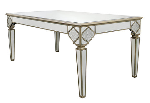 MIRRORED MOROCCAN DINING TABLE